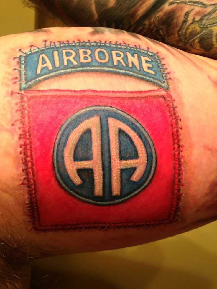 82nd airborne tattoo pictures to pin on pinterest tattooskid for 101st airborne tattoos