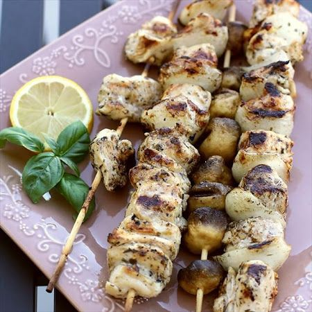 Greek Chicken Souvlaki | FOOD! | Pinterest