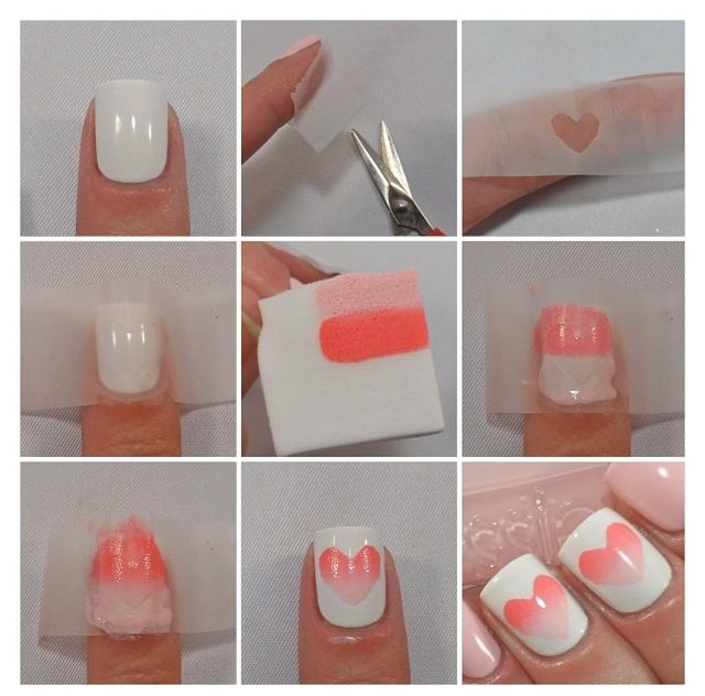 valentine's day gel nail ideas