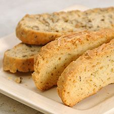 Parmesan and Cracked Black Pepper Biscotti | Recipe