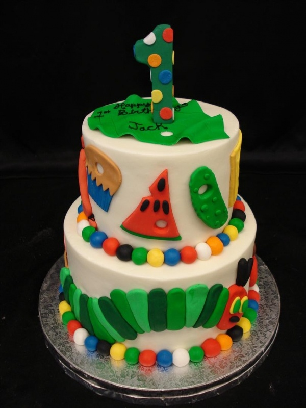The Very Hungry Caterpillar Cake Annalises first