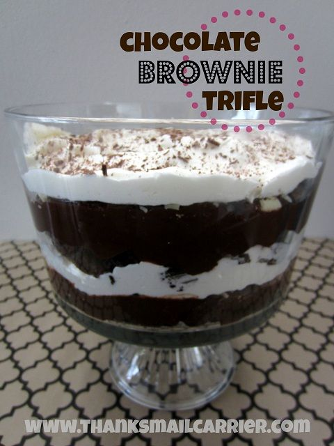 ... berry brownie trifle recipes dishmaps berry brownie trifle recipes