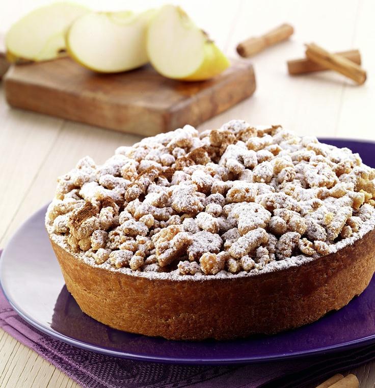 Ricetta Crostata di pane e mele in crosta croccante