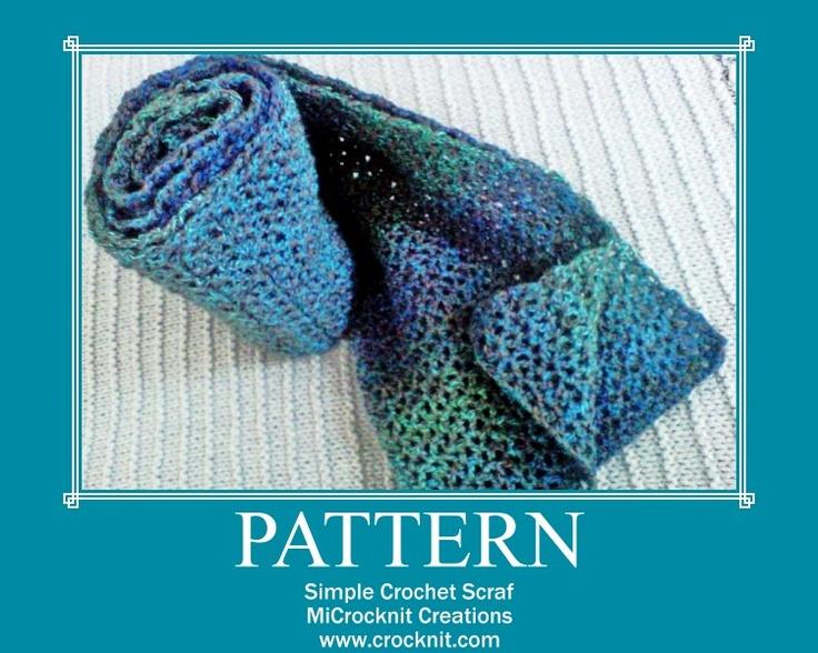 V-Stitch Scarf free crochet pattern Crochet Womens Hats ...
