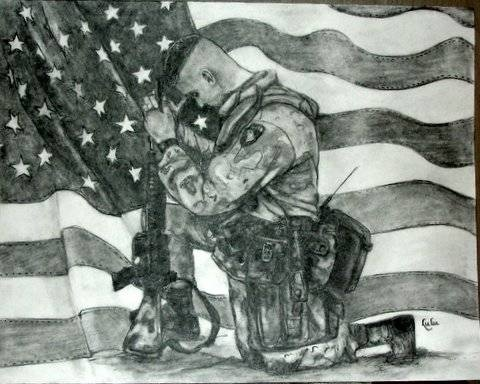 memorial day drawings
