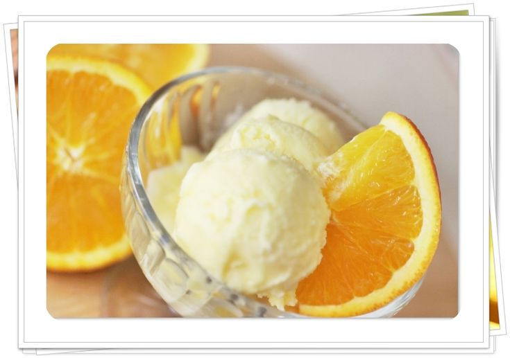 ... Illustrated Orange Sherbet recipe -- try it with blood oranges too