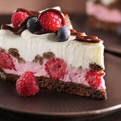 Chocolate and Berries Yogurt Dessert — Punchfork