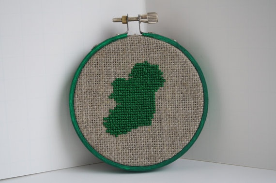 Ready to Ship Emerald Isle Ireland Cross by SaintReagansHollow, $26.99