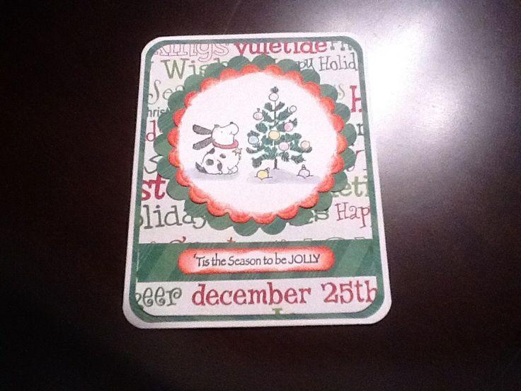 Penny Black Christmas card | Handmade Christmas Cards | Pinterest