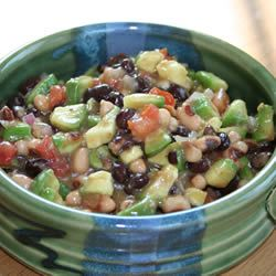 Texas Caviar with Avocado | Fibro Challenge Recipes | Pinterest