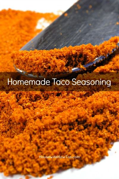 Homemade Taco Seasoning Mix Recipe - Housewife How-To's®