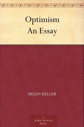 essay by helen keller