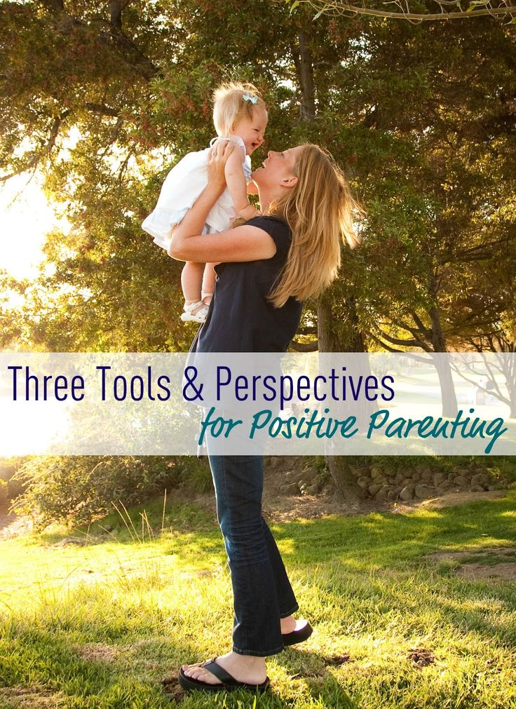 Three tools and perspectives for positive parenting by Amanda Morgan