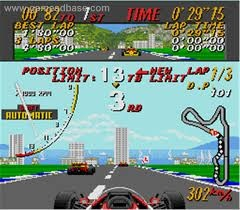 Super Monaco Grand Prix. Sega Megadrive.