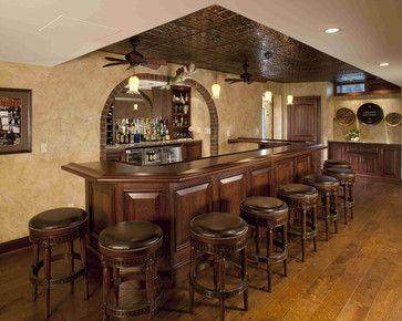 Low Basement Ceilings Basement Bar Pinterest