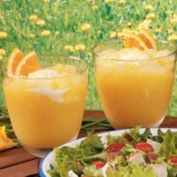 Easy Orange Cream Slush   Recipe