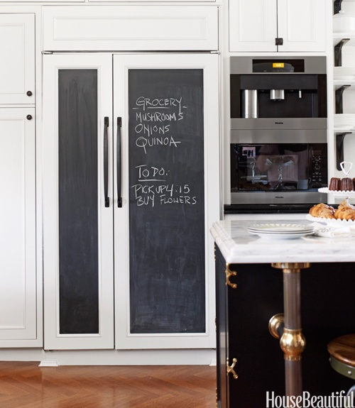 details:  chalkboard paint (you can use it for fridge or pantry doors or inside pantry/closet doors)
