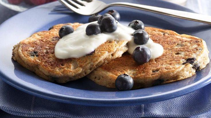 Enjoy these pancakes made using Cheerios® cereal, Yoplait® yogurt ...
