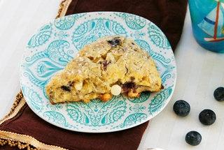 Blueberry White Chocolate Buttermilk Scones. #food #scones #breakfast ...