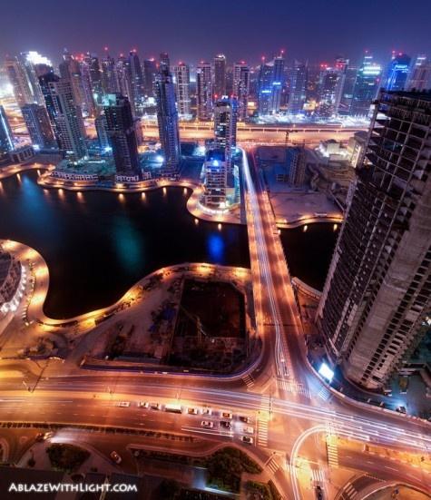 Dubai Marina by Sebastian Opitz