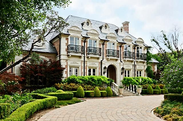 Pinterest for French chateau homes for sale