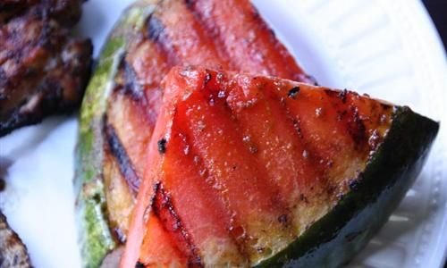 Spicy Grilled Watermelon | Food to Try - Veggies, Fruits | Pinterest