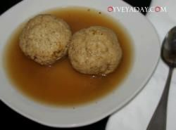 Matzo ball soup is the perfect comfort food. The light broth warms ...