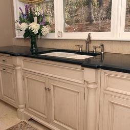 Top Cabinet Finish Kitchen Designs Pinterest