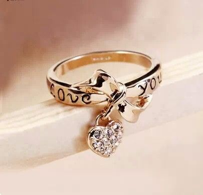 I Love You Heart Ring