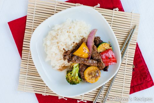 Vegetable Stir Fry - A quick and tasty way to use up all your summer ...