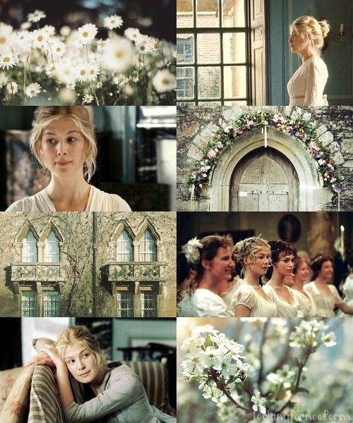 Jane Bennet, honestly, whoever cast Jane and Elizabeth was brilliant ...