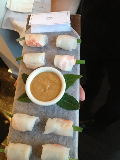 Shrimp Summer Rolls with Spicy Peanut Dipping Sauce - Benchmarc