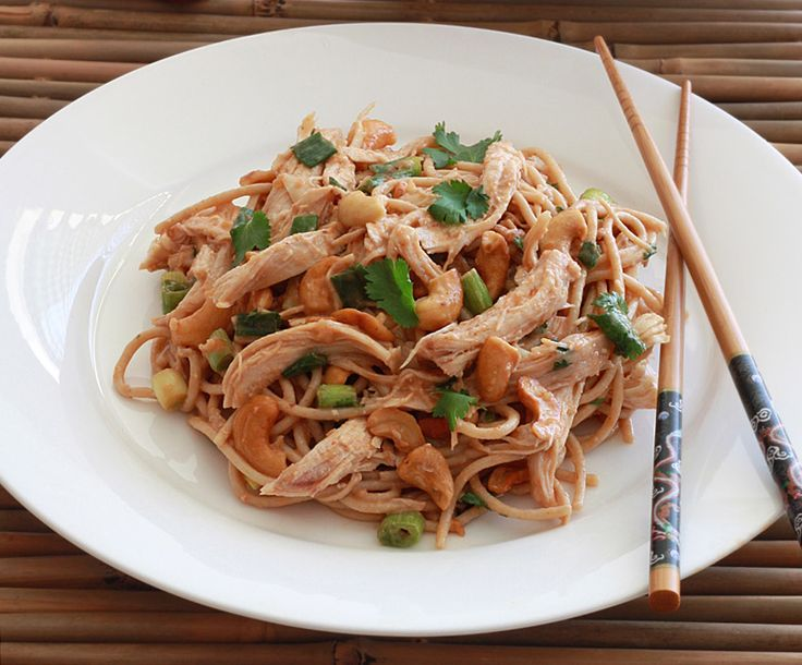 chicken and cashew noodles tender chicken crunchy cashews and a blend ...