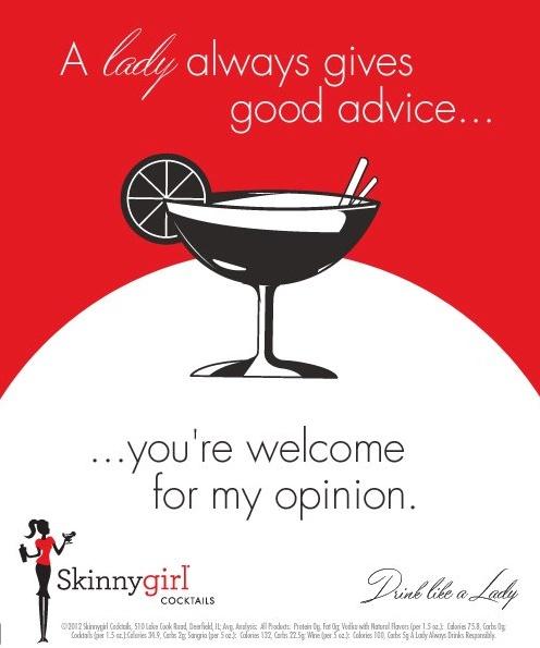 A Lady Always Gives Good Advice :)