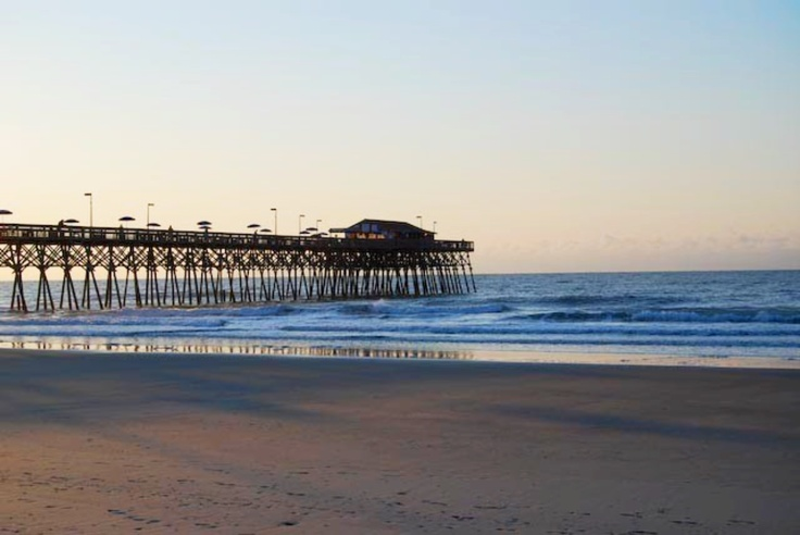 Garden City Beach Fishing Pier Sc Spent Many Nights Walking The Pier And Listening To The