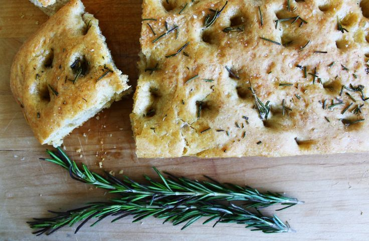 Italian Cravings: Easy Homemade Focaccia Bread by Miss Sophisticate