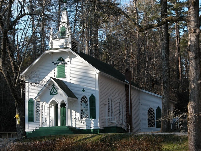 Old country church by ted jones via flickr