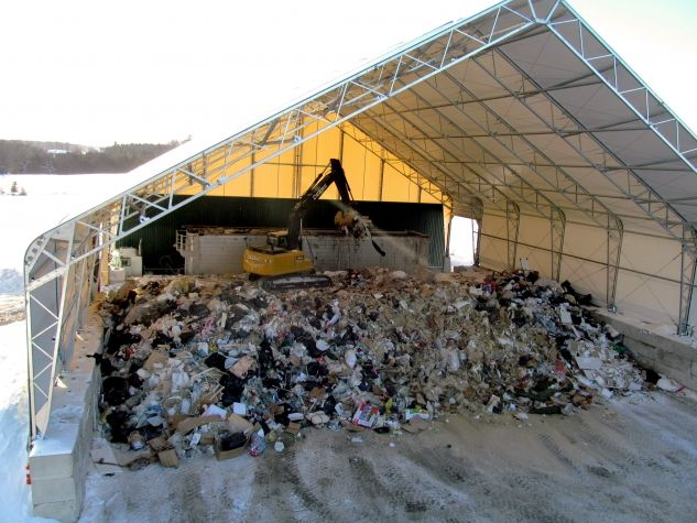 Waste transfer station | Waste and Recycling Buildings ...