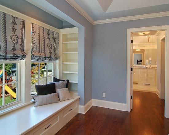 Master Bedroom Window Bench Built Ins I Covet Pinterest