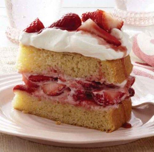 Easy Strawberry Shortcake | Strawberries | Pinterest
