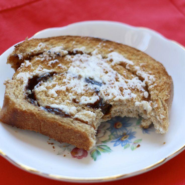 Whole Wheat Cinnamon Raisin Swirl Bread | Yummy! :) | Pinterest