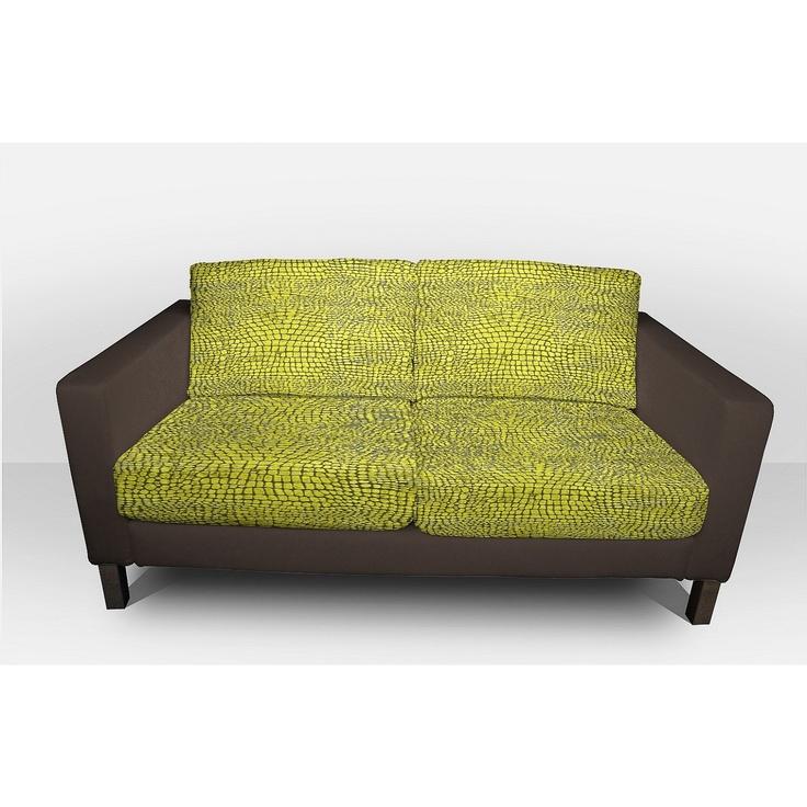 bezug f r ikea couch karlstad 2 sitzer design at home pinterest. Black Bedroom Furniture Sets. Home Design Ideas