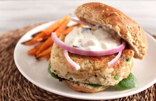 Crab Cake burgers | Pescetarian | Pinterest