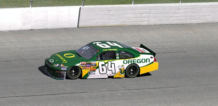 Pro Car Racing Oregon Duck Style! #nationalbrand