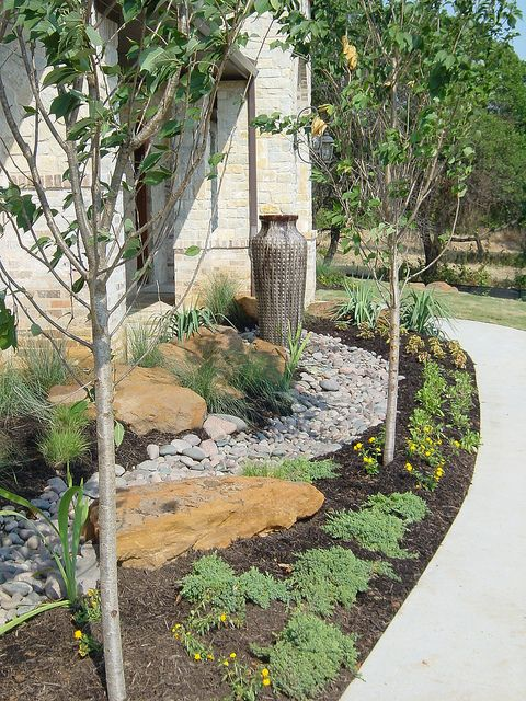 Landscape Boulders Dallas Tx : Xeriscape landscape design dallas texas this