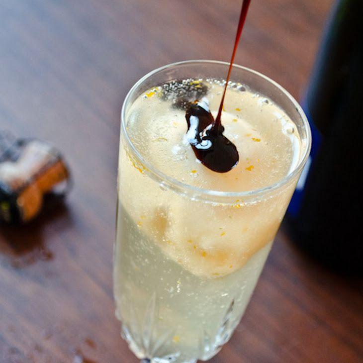Grapefruit Champagne Float Recipe | Home | Pinterest