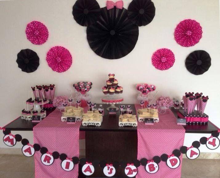 Decoracion Minnie Mouse Rosa ~ Decoracion mimi  Party Ideas  Pinterest