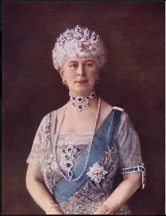 Queen Mary Consort Of King George V Royalty Pinterest