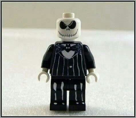 Jack Skellington custom lego | nightmare before christmas | Pinterest