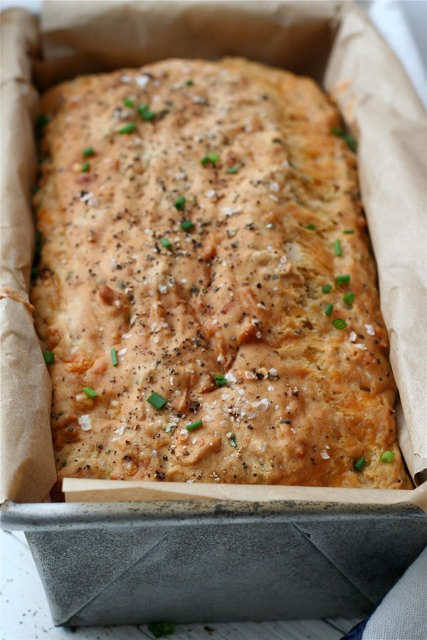 Kristin's Cheddar, Chive & Ale Bread | Culinary-Breads | Pinterest